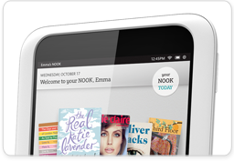Your NOOK on NOOK HD