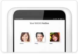 NOOK Profiles on NOOK HD