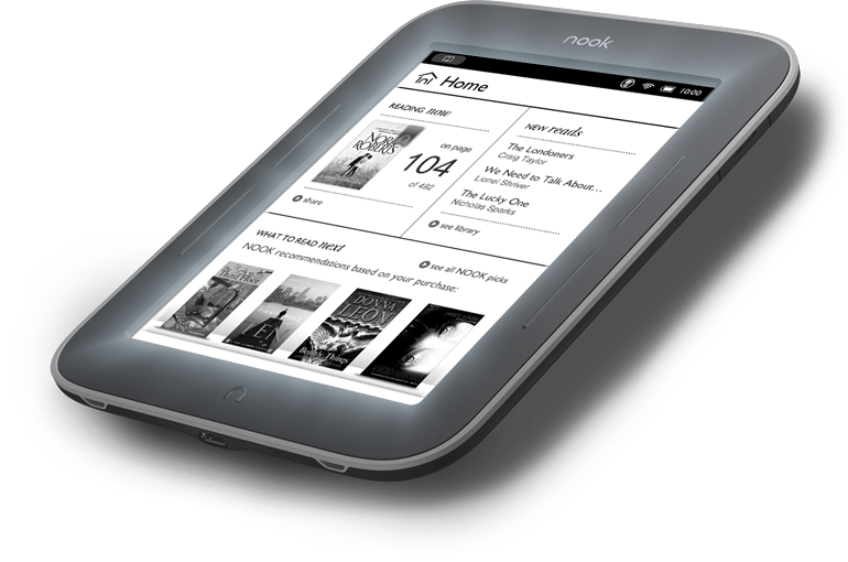 Nook Ereader with Glowlight